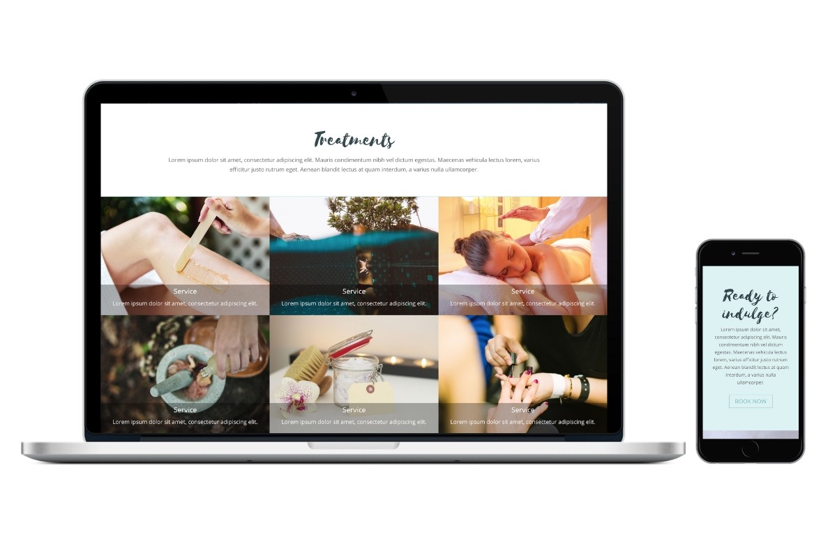 Spa & Wellness Website Templates 4