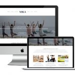 Affordable Health & Wellness Websites - New Yoga Template