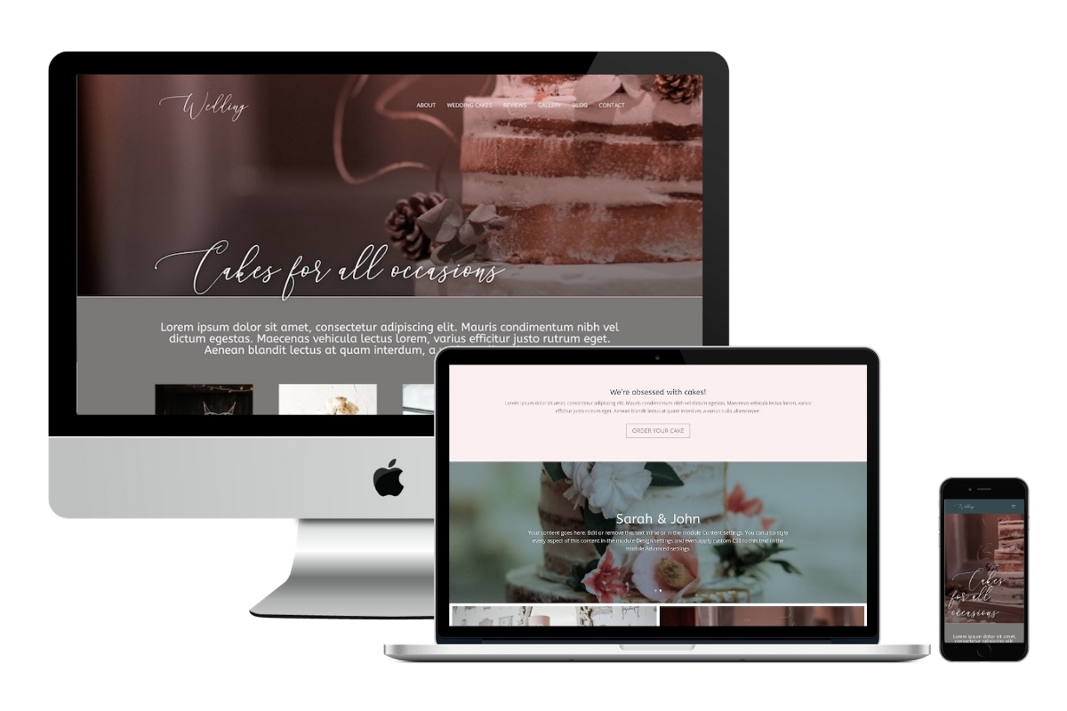 Six Page Celebrant Website 3