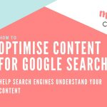 Optimising your content for SEO
