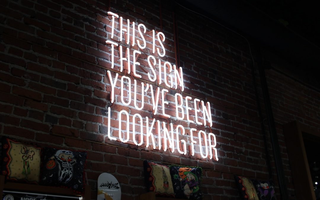 Understand niche for successful branding, the sign