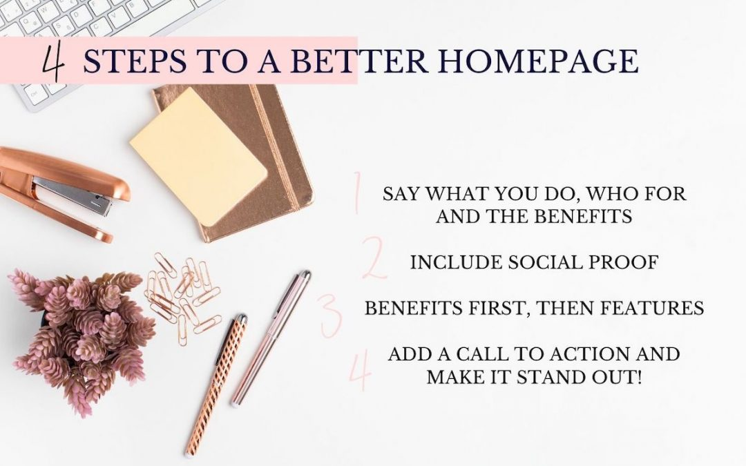 4 Steps to Improve Your Homepage