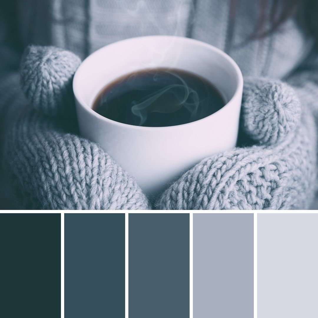 cool tones winter brand colours