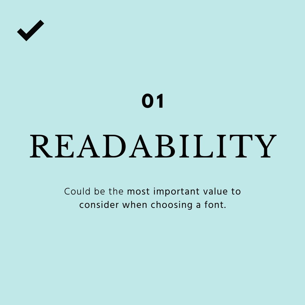 brand fonts the importance of readability
