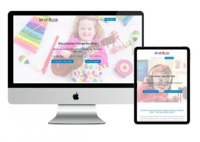 Kids App & Membership Website Redesign