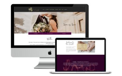 Celebrant Website Design – Portfolio