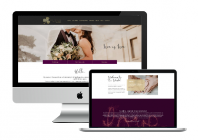 Celebrant Website Design – Portfolio
