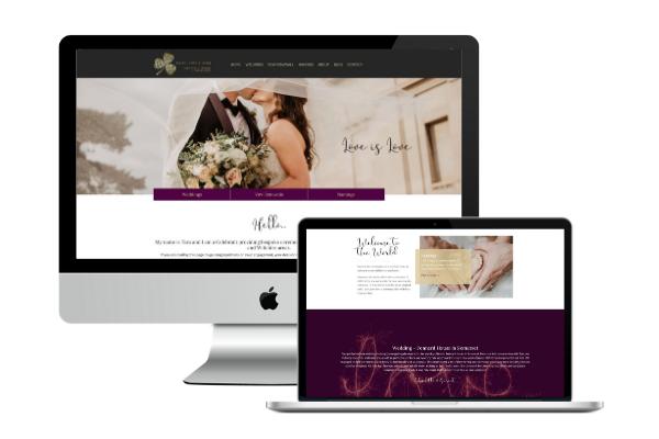 celebrant website design