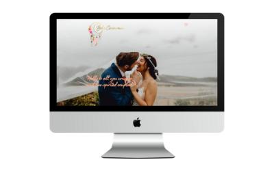 Boho Ceremonies – Wedding Industry Web Design – Portfolio
