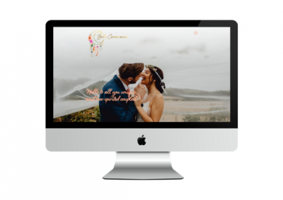 Boho Ceremonies – Wedding Industry Web Design – Portfolio