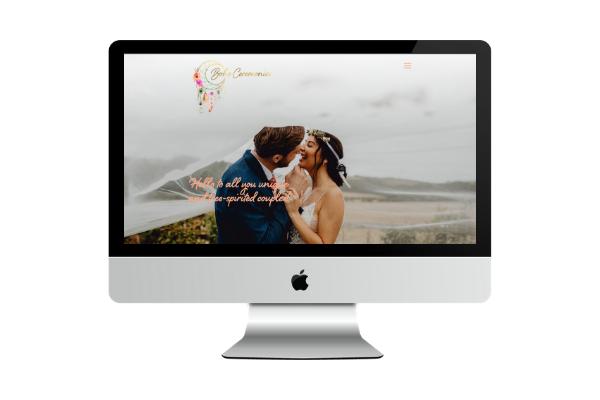 wedding industry website design